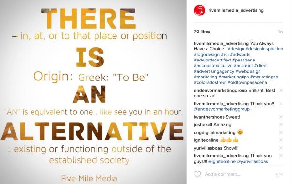 Social Media – Alternative